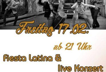 """Fr. 17.02.2017 – """"Son Con Ron Live & Fiesta Latina"""""""